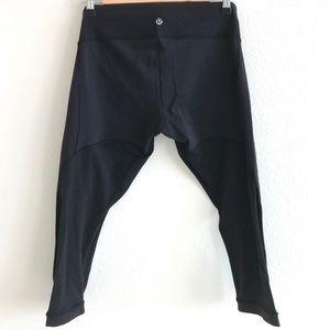 lululemon | Mesh Cropped Yoga Pants